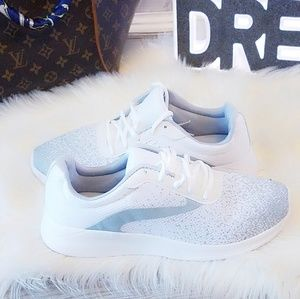 Shoes - New White Memory Foam Running Shoes Sneakers 9